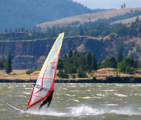 Oregon Wind Surfing